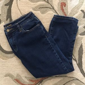 Michael kors cropped dark denim jeans